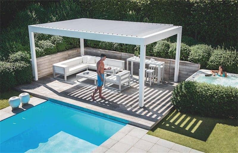 Renson Camargue terrasseoverdækning