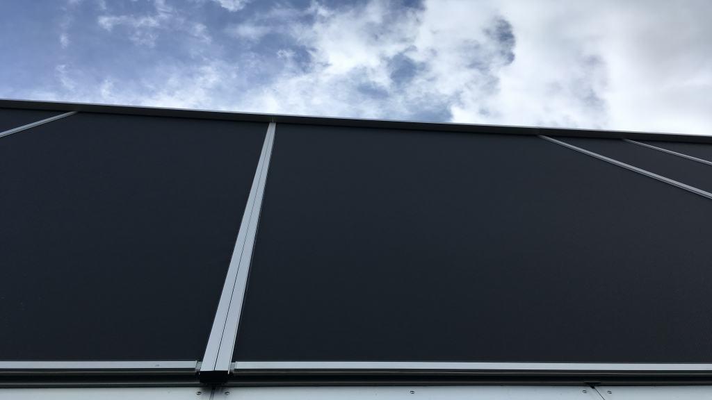 Solafskærmning til store vinduer Renson Fixscreen 150