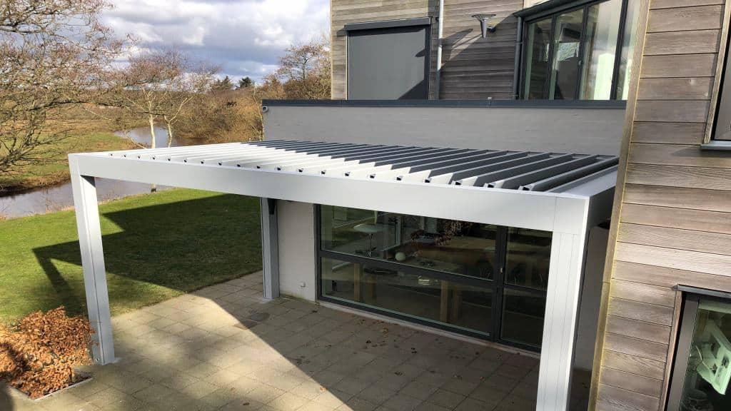 Renson Camargue terrasseoverdækning i aluminium
