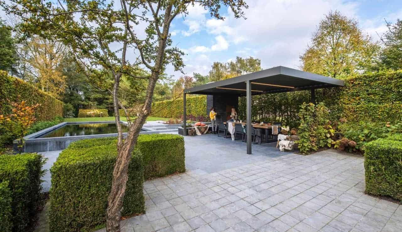 Renson Algarve overdækning af terrasse