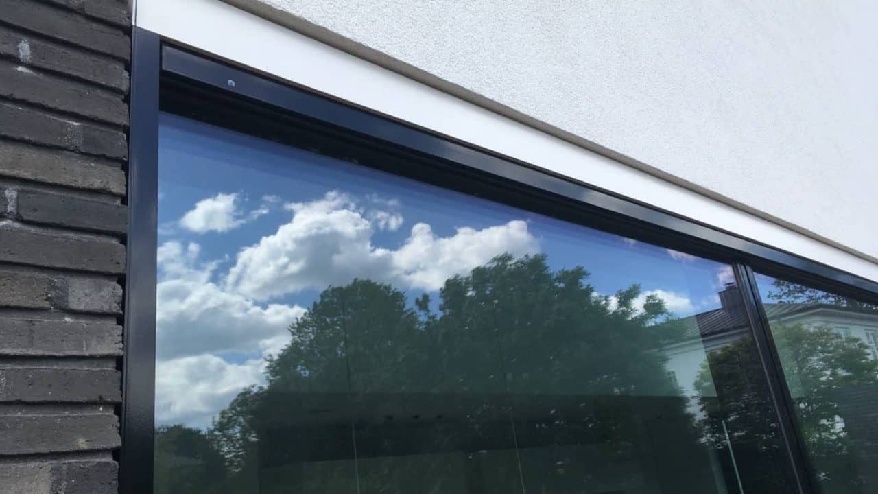 Udvendig solafskærmning Renson Fixscreen 100