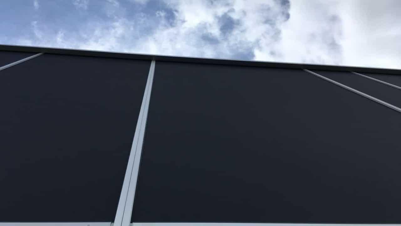Solafskærmning Middelfart Renson Fixscreen