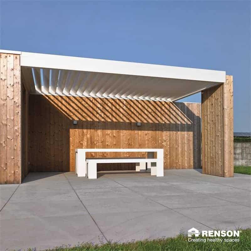 Terrasseoverdækning Renson Aero