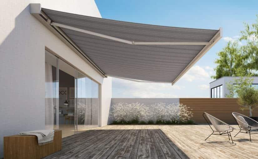terrassemarkise i flot design
