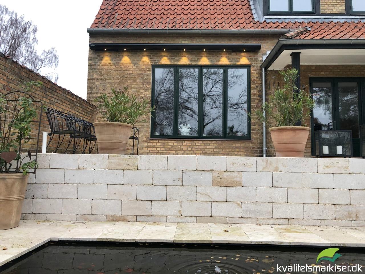 Terreassemarkise i høj kvalitet til hus i Hellerup